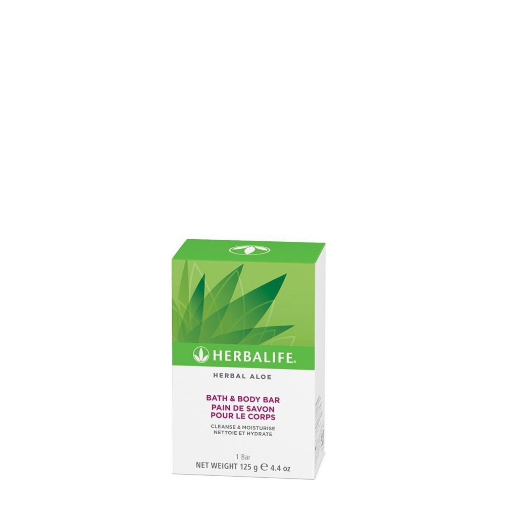 Pastilla de Jabón Herbal Aloe Herbalife